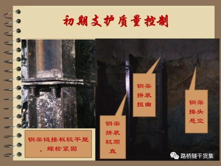 收藏!隧道工程标准化施工质量过程控制_21