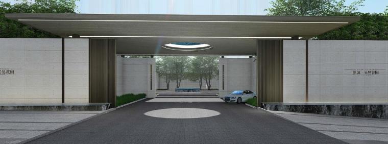 欧式风情街景观资料下载-[广东]惠州现代风格居住区景观设计方案