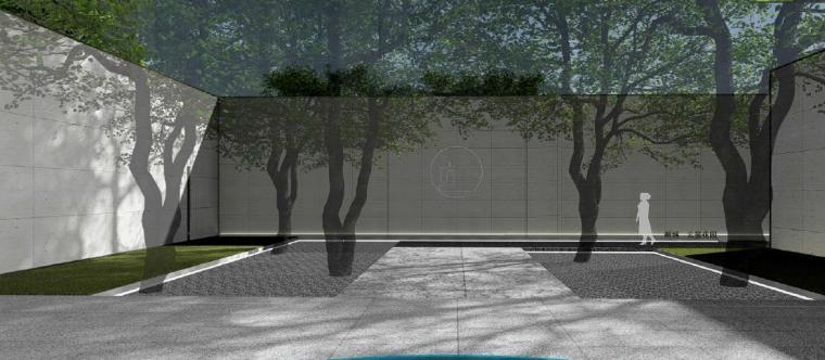 [广东]惠州现代风格居住区景观设计方案-景观效果图4