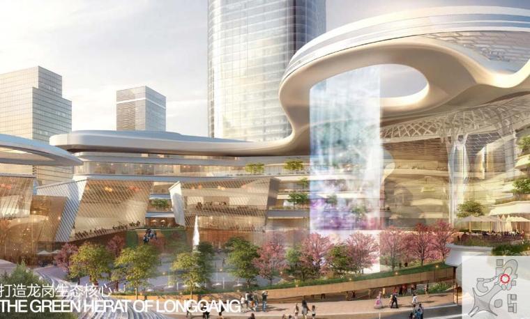 [广东]国际中心超级住宅+办公建筑方案-设计亮点