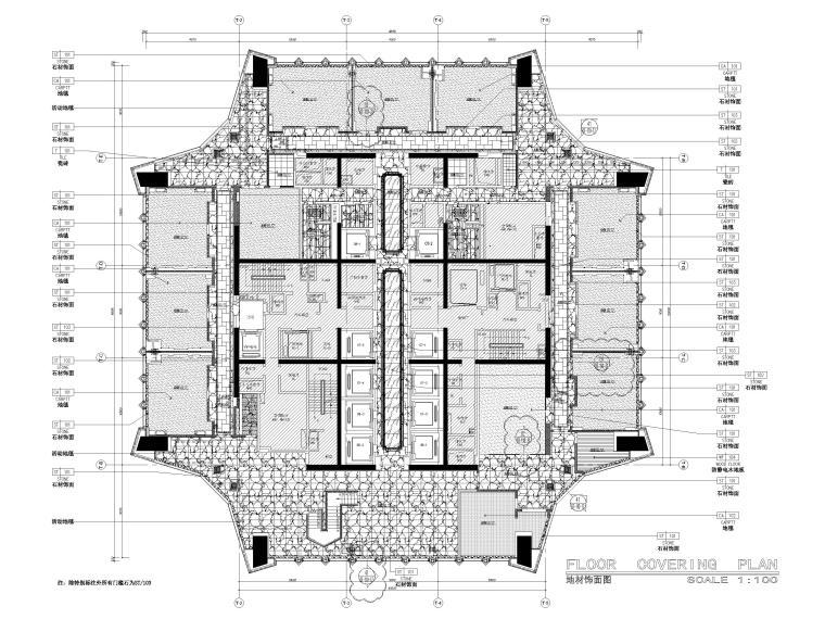 109层地面铺装图