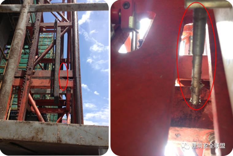 塔吊、施工电梯典型隐患照片分析_17