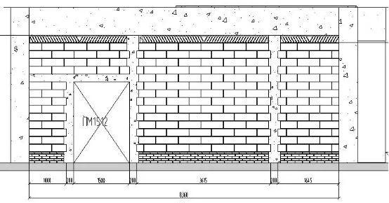 砌体工程如何排砖?典范示例,学习一下!_4