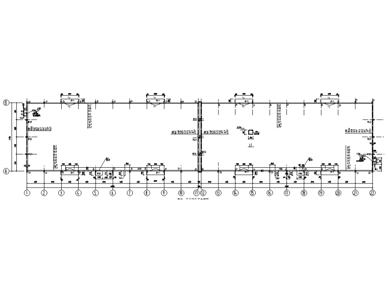 梁墙及柱结构布置图