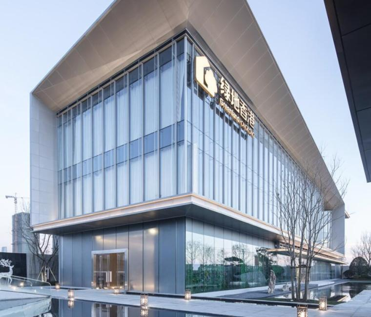 云南知名企业巫家坝壹号示范区建筑模型设计 (3)