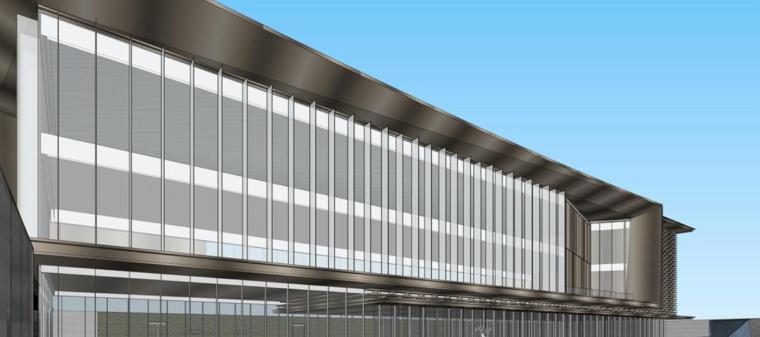 云南知名企业巫家坝壹号示范区建筑模型设计 (6)