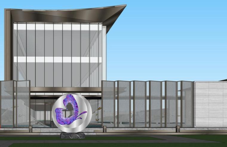 云南知名企业巫家坝壹号示范区建筑模型设计 (7)