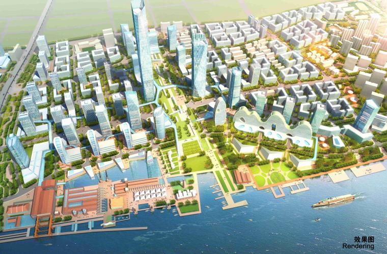 [上海]滨江创新城区景观设计方案-2效果图