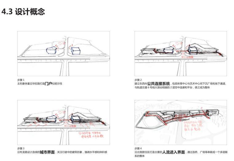 [广东]公共舒适商业办公建筑方案设计-设计概念