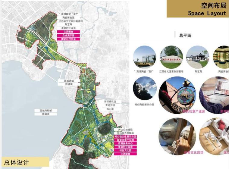 [广东]现代风格产业园区建筑规划设计-总体设计一