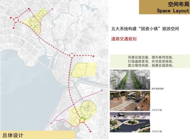[广东]现代风格产业园区建筑规划设计-道路交通规划