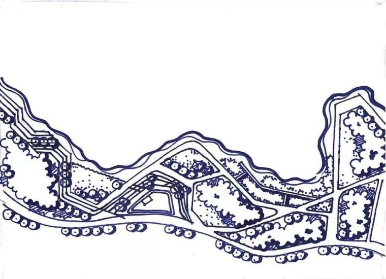 景观快题干货之折线构图技巧(收藏)_16