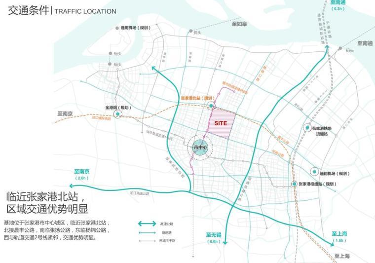 [江苏]高新技术开发区办公建筑概念方案-交通条件
