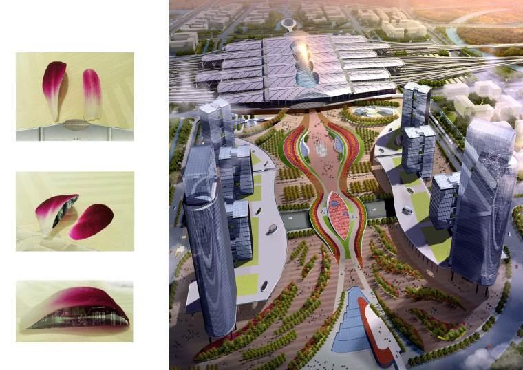 [广东]广州区域交通枢纽景观设计方案-5意向图