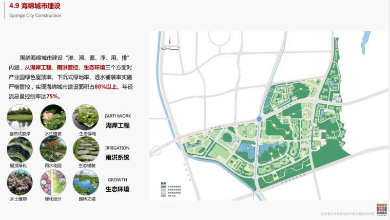 [贵州]现代风数字物流产业园建筑概念规划-海绵城市建设