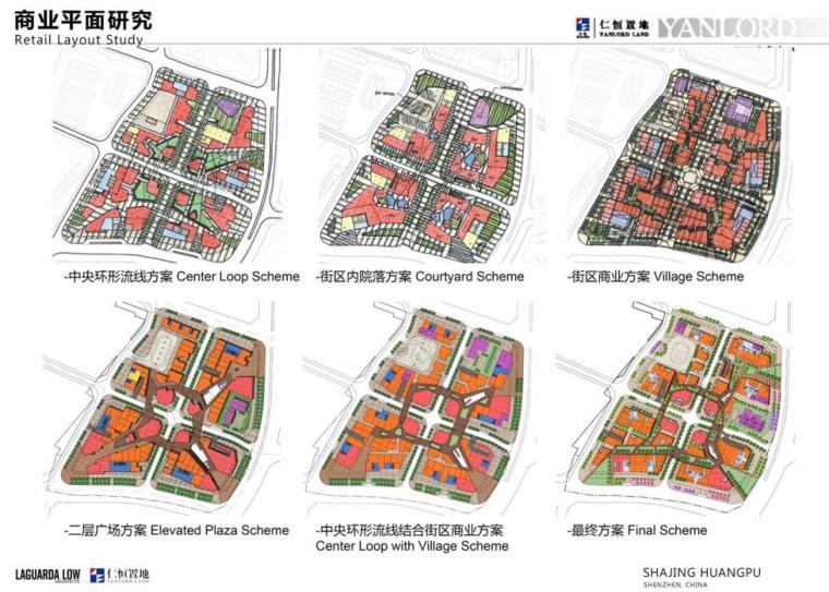 [广东]知名企业现代风格商业办公建筑方案-平面研究
