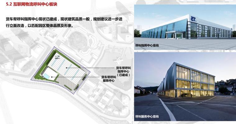 [贵州]现代风数字物流产业园建筑概念规划-互联网物流呼叫中心板块