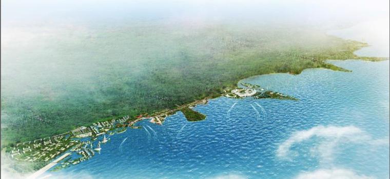 欧式风情街景观资料下载-[江苏]泗阳湖滨度假小镇景观设计方案