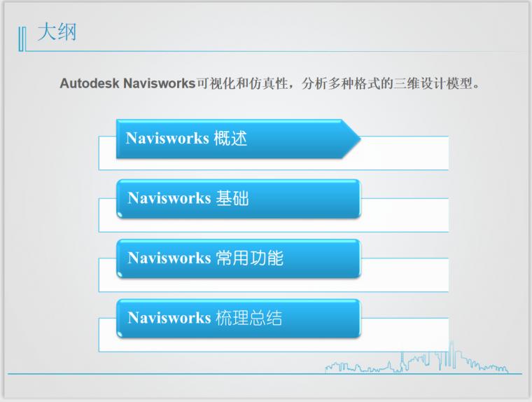 NavisWorks目录