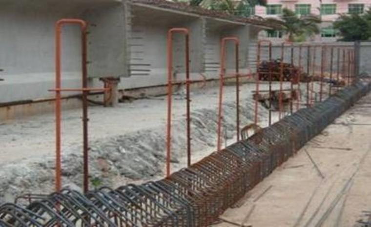 [福建]高速公路T梁预制施工要点-T梁钢筋定位架