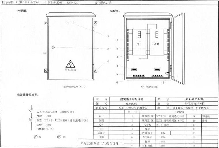 详细:三级配电二级漏保、一机一闸一漏一箱_18