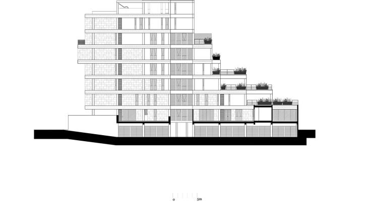墨西哥高层复式公寓-fachada_poniente