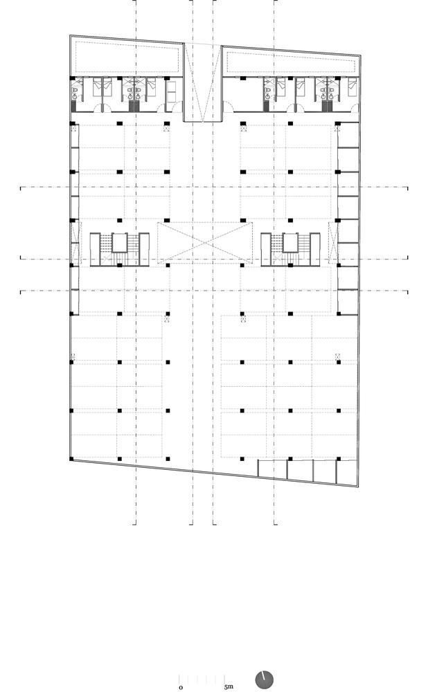 墨西哥高层复式公寓-planta_estacionamiento