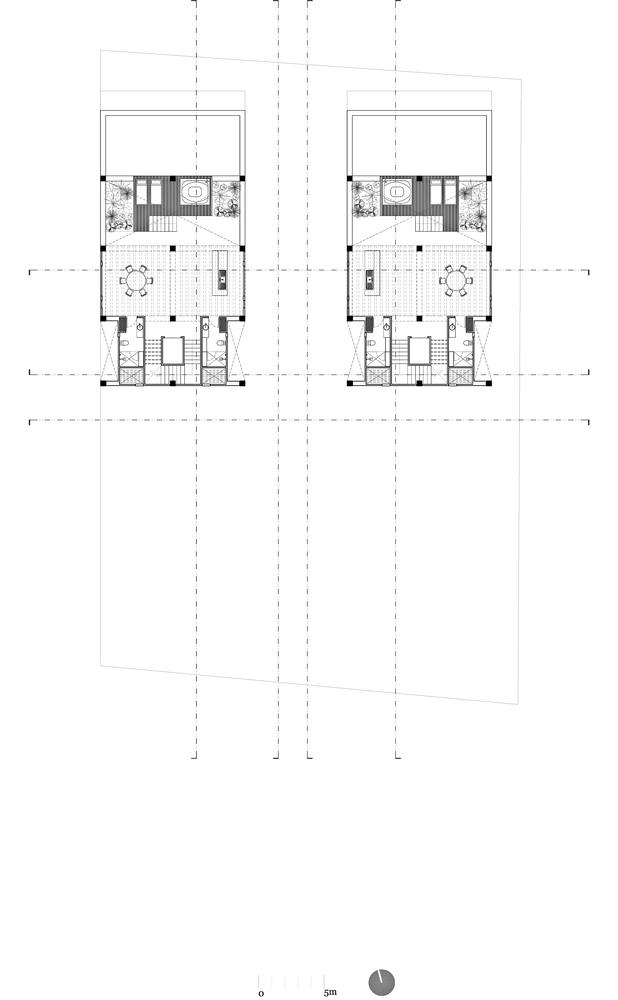 墨西哥高层复式公寓-planta_amenidad