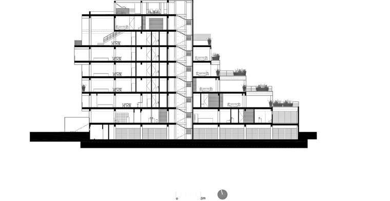 墨西哥高层复式公寓-sección_longitudinal_2