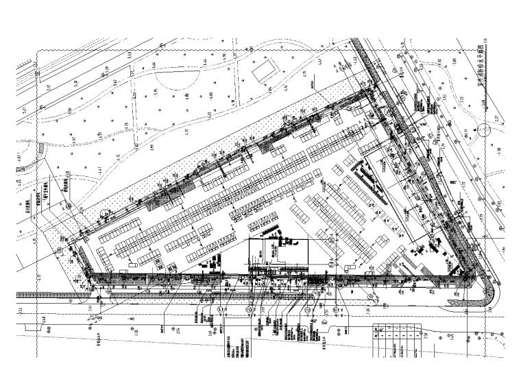 欧式二层滨水咖啡厅图资料下载-12万商用居住混合用地给排水施工图
