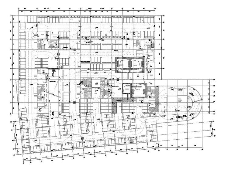 [广东]人民医院门诊楼电气施工图(2020)-2消防联动平面图