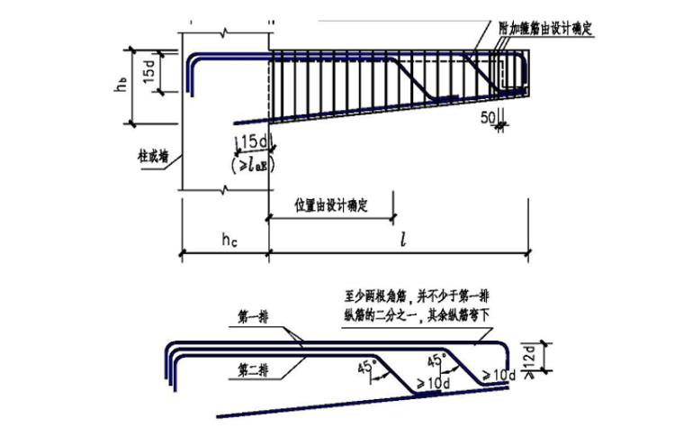 G901图集一般构造要求及框架梁讲义PPT-09 纯悬挑梁