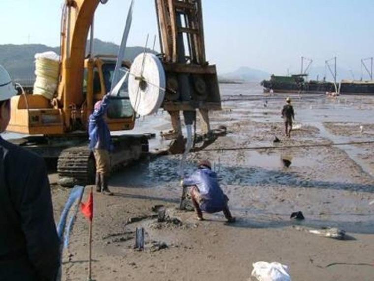 工程软土地基处理施工方案-机组组装
