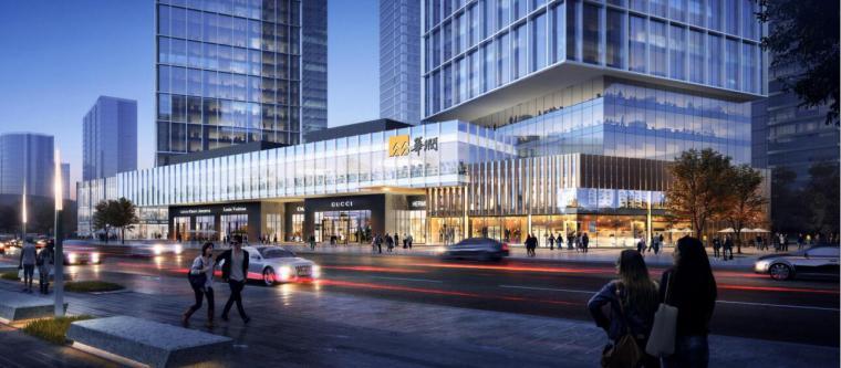 [沈阳]商业+超高层公建化豪宅建筑方案设计-效果图1
