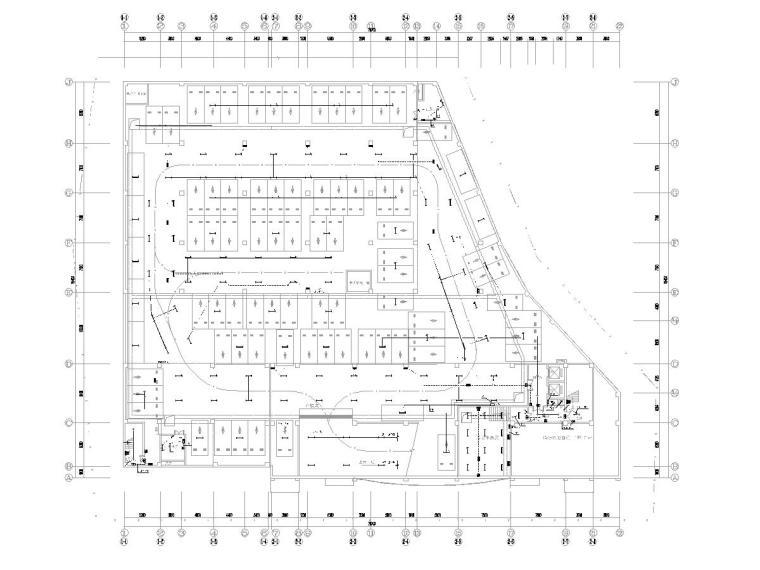 餐厅电气消防资料下载-[贵州]6层办公及餐厅综合楼电气施工图2020