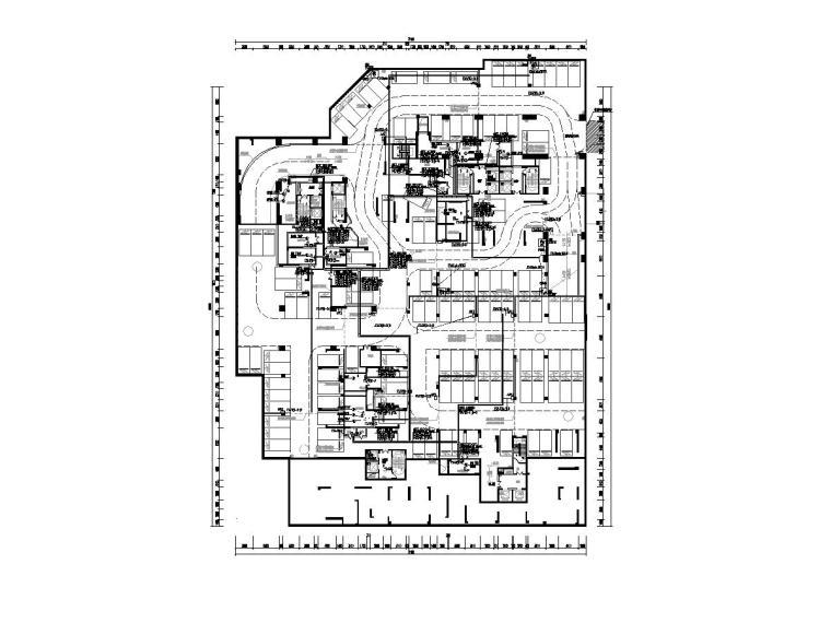 [广东]人民医院回迁住宅楼电气施工图2020-2动力配电平面图