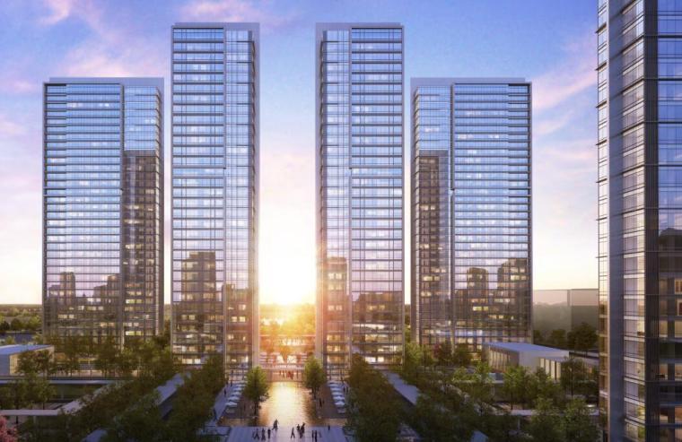 [浙江]知名企业现代超高层江景豪宅中标文本-住宅效果展示
