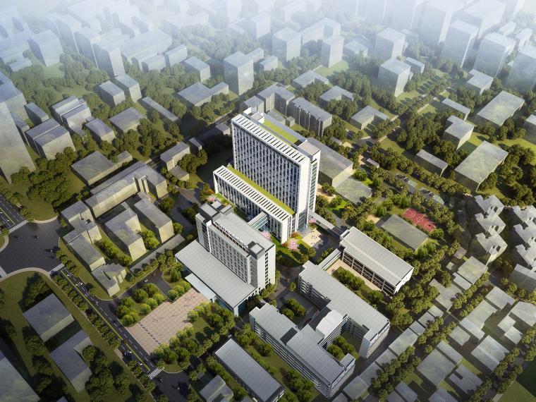 综合性高层医院建筑初设图CAD2018-医院