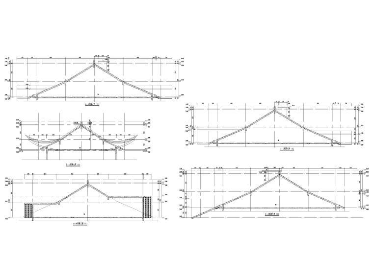 片区棚改单多层商业建筑施工图2019含标文-坡屋顶大样