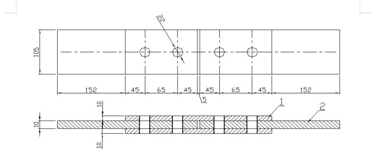 8层框架结构办公楼钢结构工程专项施工方案-02 摩擦面滑移试验
