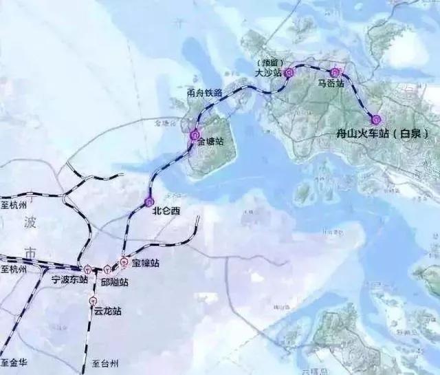 甬(宁波)舟(舟山)铁路项目准备开建(超级跨_2