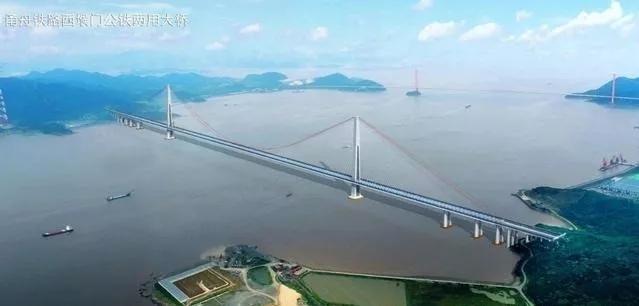甬(宁波)舟(舟山)铁路项目准备开建(超级跨_3