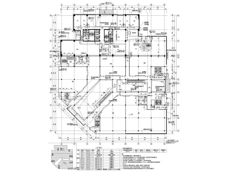 脱贫攻坚产业孵化园配套商业建筑施工图2019-二层平面图