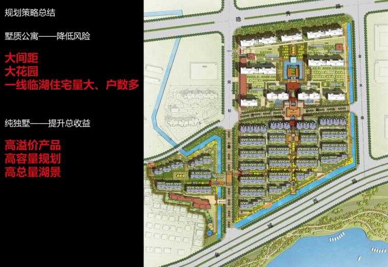 [江苏]新古典风格临湖住宅+别墅建筑方案-纯独墅——提升总收益