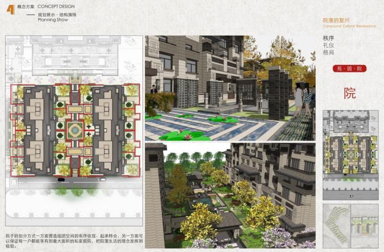 [河北]新中式山地洋房+叠拼+商业建筑方案-结构演绎