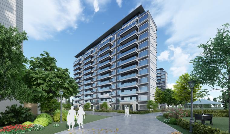 [浙江]知名企业住宅+别墅建筑立面设计-知名企业住宅+别墅建筑立面设计 (6)