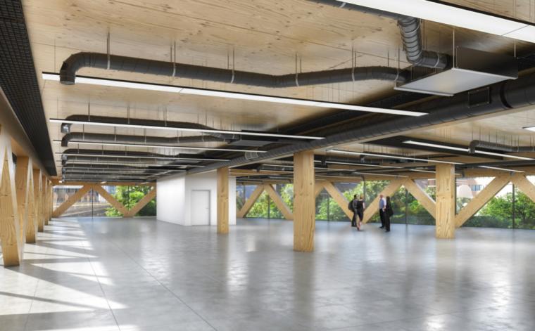 英国零碳办公楼落成,开启可持续设计新思路_9