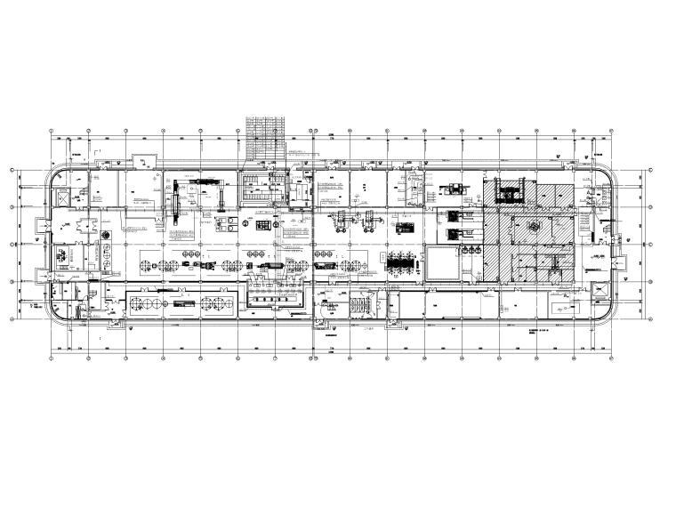 [贵州]三层茶叶工艺厂房电气施工图2018-2动力平面图
