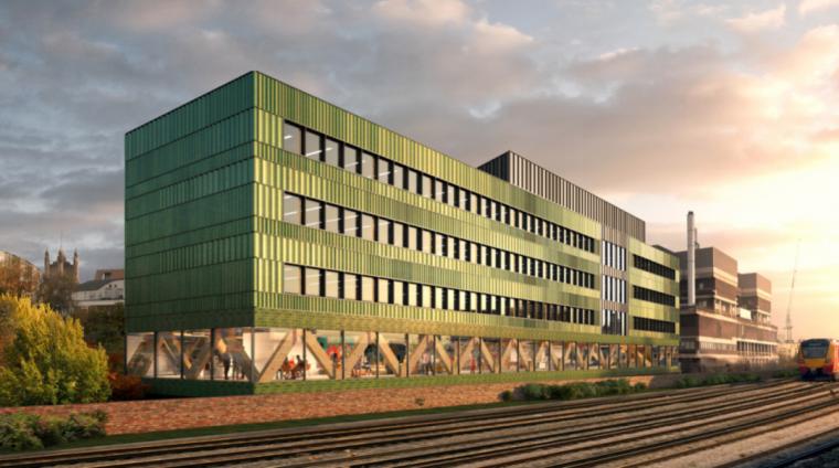 英国零碳办公楼落成,开启可持续设计新思路_2