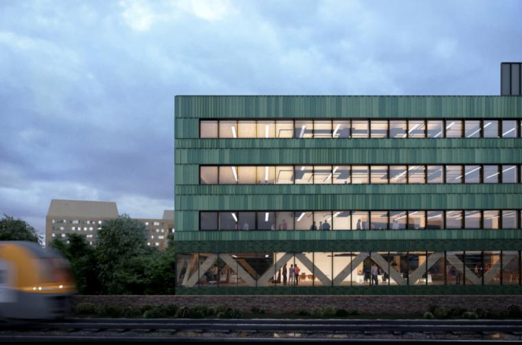 英国零碳办公楼落成,开启可持续设计新思路_3